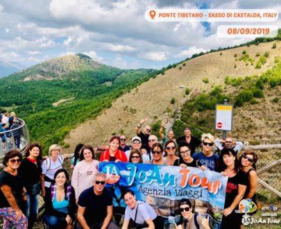 PASQUETTA 2020: PONTE TIBETANO-SASSO DI CASTALDA