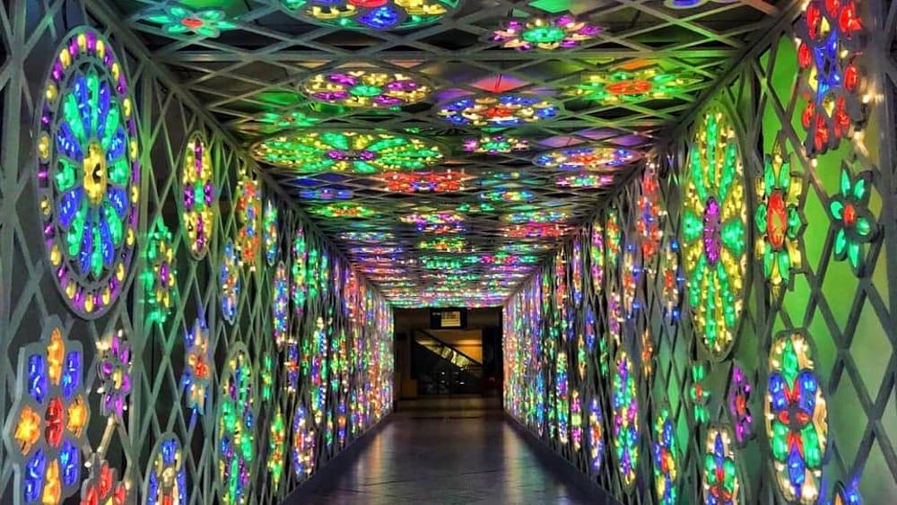 Bari luminarie in aeroporto